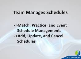 Sports Team Schedule Maker How Sports Club And League Scheduling Works