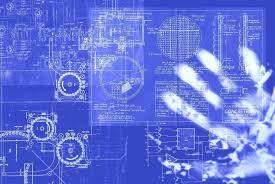 Blueprint Architecture Blue Backgrounds And Technology Blueprint