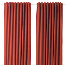 ikea majgull block out curtains 1 pair