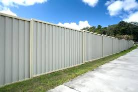 sheet metal fence galvanized corrugated