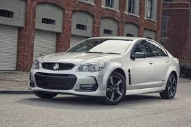 holden new car release2016 Holden Commodore Black Sedan Sportwagon and Ute Released