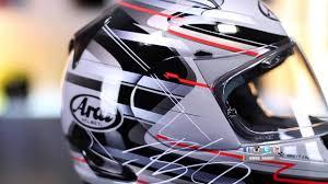 Brett King Design Helmet Arai Signet Q Brett King Design Helmet And In Studio Interview Bikebandit Com