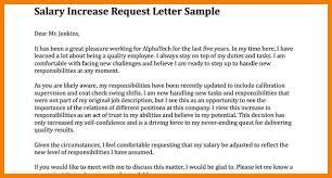 Raise Letter Sample 12 Salary Raise Letters Business Letter