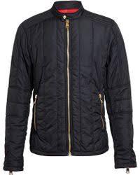 Versus Quilted Racing Jacket in Black for Men | Lyst & Versus | Quilted Racing Jacket | Lyst Adamdwight.com