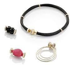 clara williams pany interchangeable magnetic jewelry bundle 4 items 1 leather necklace and 3