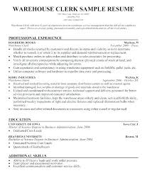 Warehouse Jobs Resume Cool Warehouse Jobs Resume Warehouse Associate Job Resume Sample Resumes