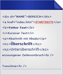 Schritte zur Website-Erstellung - Umsetzen in HTML und CSS - goneo