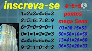 Mini tabela da mega Sena concurso 2336=2337=2338=2339=2340=2341=2342=2343=2344  - YouTube