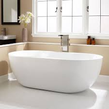 ... Bathtubs Idea, Free Standing Soaker Tub Acrylic Freestanding Bathtub  Neptune Amaze Free Standing Bath Tub
