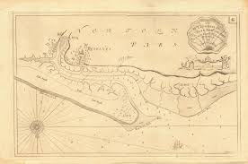 Blakeney Point Sea Chart Blakeney Morston Cley Next The Sea Collins C1774 Map