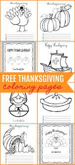 Free Printable Thanksgiving Coloring Pages Lil Luna