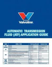 Kendall Versatrans Application Chart Automatic Transmission Fluid Gli Mafiadoc Com