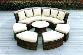 sectional patio dining set rattan outdoor dining furniture round wicker chair outdoor brilliant round patio sectional