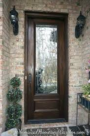 front door with wrought iron and glass iron glass front doors s wrought iron and glass