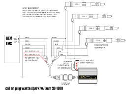 aem twin fire coil on plug waste spark wiring diagram