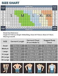 Roc Bodywear Size Chart Toptie 5 Pack Slimming Body Shaper Compression Shirt Mens Sculpting Vest Muscle Tank Bulk Sale