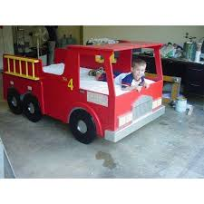 diy firedept toddler decor kids bed images child room on fireman bedroom accessories fire truck wall