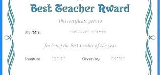 Teacher Appreciation Printable Awards Free Employee