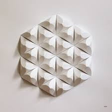 best 15 of diy origami wall art
