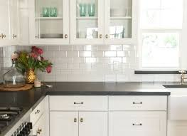 Kitchen Countertop Designs New Grey Glass Granite Cabinets Cement Moroccan Checkered Ideas Counter
