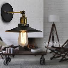 Vintage bedroom lighting Cluster Image Is Loading Vintagewalllampindoorblackwalllightkitchen Ebay Vintage Wall Lamp Indoor Black Wall Light Kitchen Wall Sconce