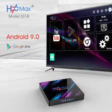 H96 MAX RK3318 4 GB RAM 64 GB ROM 5 G WIFI