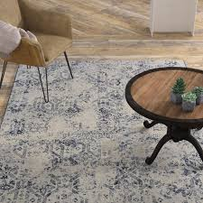 area rugs andover woven blue gray area rug