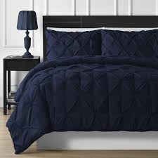 image of awesome navy blue duvet cover