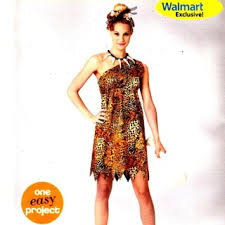 Halloween Costume Patterns Best Free Simplicity 48 Adult Cave Woman Halloween Costume Pattern