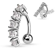 reverse chain drop belly bars belly on rings