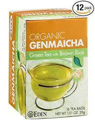 Eden <b>Organic</b> Green Tea with <b>Brown</b> Rice, Traditional <b>Genmaicha</b> ...