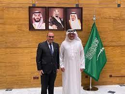 لقاء سمو الأمير سلطان بن سعد بن خالد آل سعود سفير المملكة العربية السعودية  - سفارة جمهورية العراق في الكويت