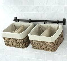 bathroom wall storage baskets.  Bathroom Wall Mounted Storage Baskets Hanging Basket Basketball Bathroom  Modern Decoration Design On Bathroom Wall Storage Baskets A