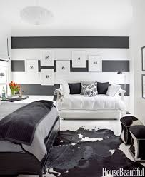 black and white bedroom decorating ideas. Beautiful Decorating To Black And White Bedroom Decorating Ideas House Beautiful