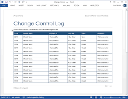 Change Management Template Free Best Software Testing Templates 48 MS Word 48 Excel Spreadsheets