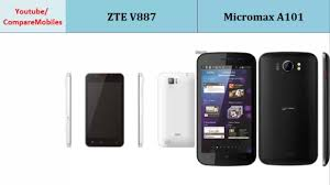 ZTE V887 and Micromax A101, Quick Full ...