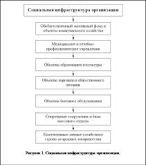 Менеджмент Сущность основные цели и условия социального развития  Подпись 13 10 Рисунок 1 Социальная инфраструктура организации