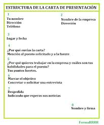 Carta De Presentacion Modelo Formarrhh Carta De Presentacion