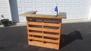 Rustic wood furniture ideas Outdoor Rustic Pallet Bar 16 Genius Handmade Pallet Wood Furniture Ideas Architecture Art Designs 16 Genius Handmade Pallet Wood Furniture Ideas You Will Immediately