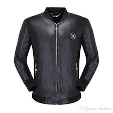 sport brand men s real leather jacket genuine leather jacket men leather coat motorcycle jackets top quality