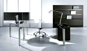 Modern Home Office Glass Desk Tables In Desks Prepare 14 Deseta Info