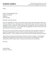 Cover Letter Ex Free Medical Office Assistant Cover Letter Ex