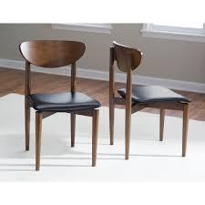 belham living carter mid century modern upholstered dining chair set of 2 hayneedle