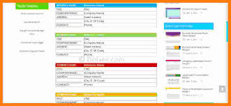 Contact List Template Excel Template For Contacts Gallery Template Design Ideas 22