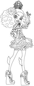 Small Picture Free Printable Monster High Coloring Pages Lagoona Blue Monster