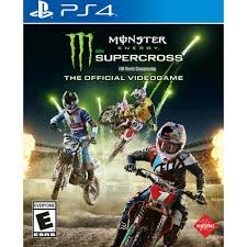 Monster Energy Supercross Official Game Square Enix Playstation 4 662248920511 Walmart Com
