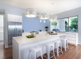 Colour Kitchen Roslyns Perriwinkle Blue Kitchen Kitchen Colours Rooms By