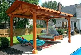 free standing patio covers. Wooden Freestanding Patio Cover On Budget Free Standing Patio Covers W