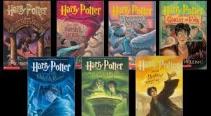 all seven of the harry potter books in their correct order