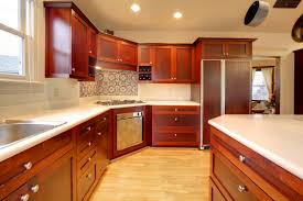 Of Endearing Kitchen With Veneer Kitchen Cabinets And - Average cost of kitchen cabinets